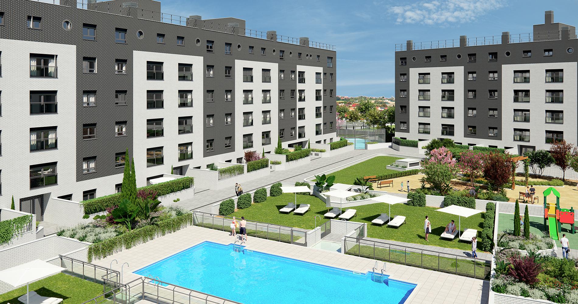 Pryconsa Jardín de Fuentemar Residencial piscina