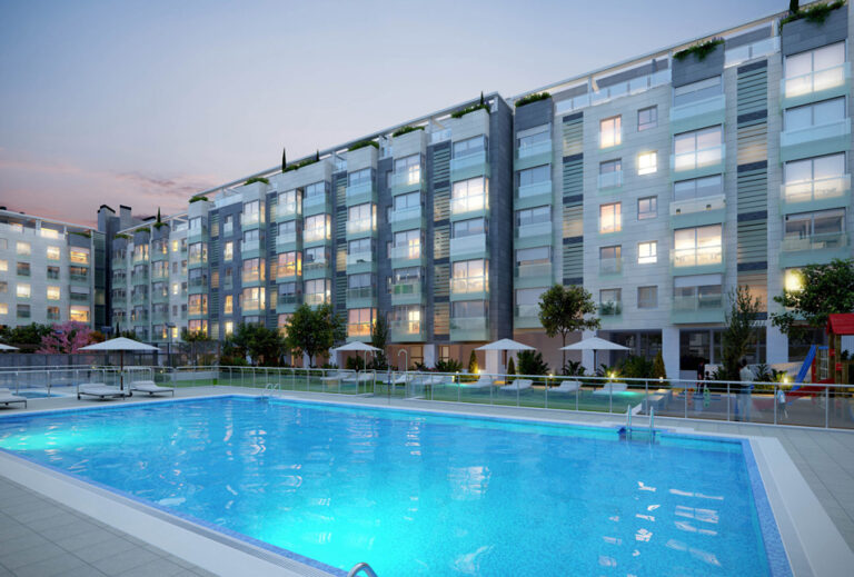 Pryconsa Residencial El Jardín de la Reina piscina